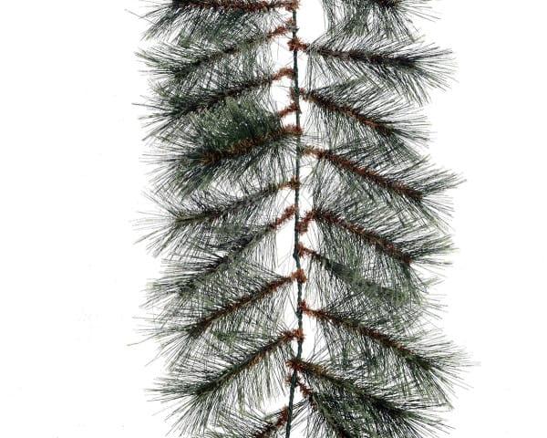 Weihnachten Kae KASCHMIR GIRLANDE, 270cm grün