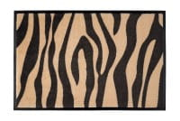 Fußmatte Gift C. WASHABLES 75x50, Zebra