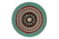 Tischset Gift BOATHOUSE Platzmatte rund, D38cm grün/rot/schwarz
