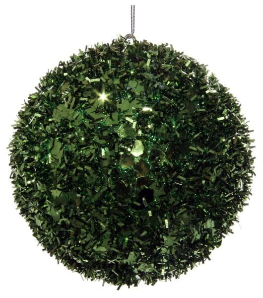 ShiShi LAMETTA-KUGEL, grün 10cm