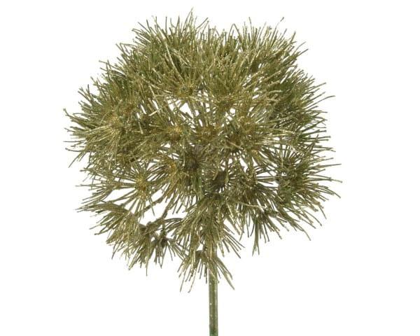 Weihnachten ALLIUM 70cm grün-gold
