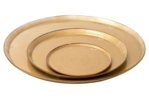 DutZ Platte PLATE Ø64 gold