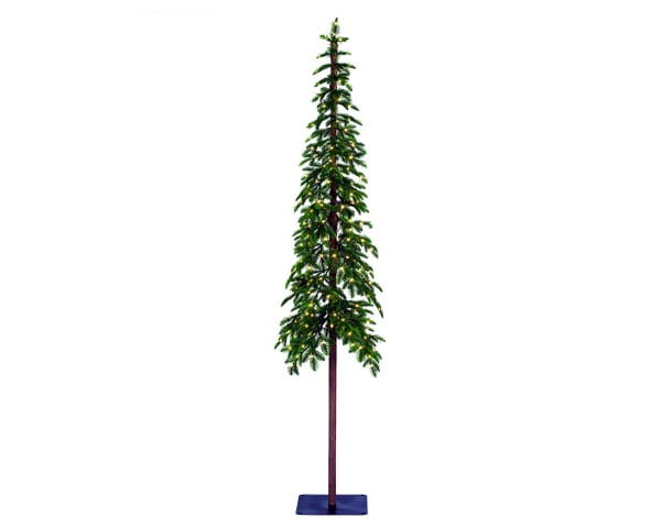 Weihnachten Kae ALPINE TREE beleuchtet, 210cm 200L grün / w-weiß