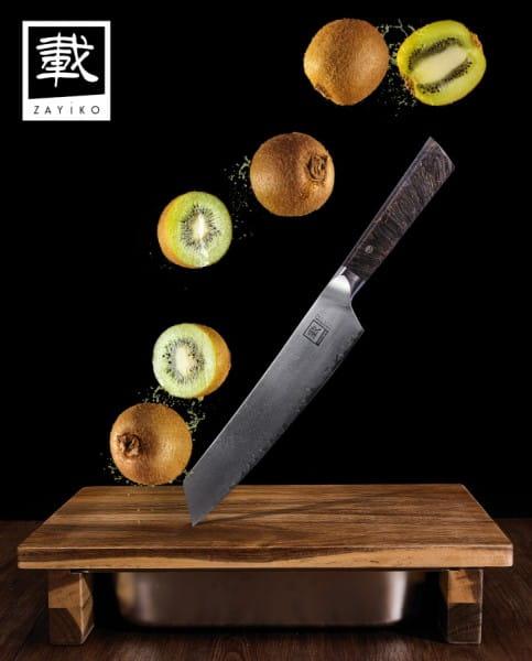 ZAYIKO Damastmesser Profi Serie, Chefmesser - Oleio