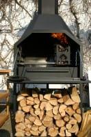 Homefires Braai Grill, 800 freistehend