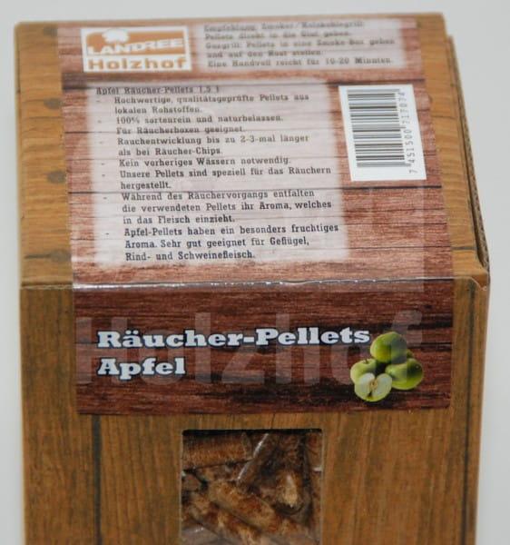 Räucherpellets Apfel 1,5L - Landree