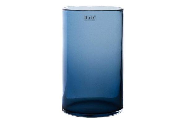 DutZ Vase CYLINDER H27 Ø15cm, steelblue