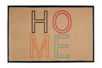Fußmatte Gift C. WASHABLES 75x50, Home h'beige-bunt