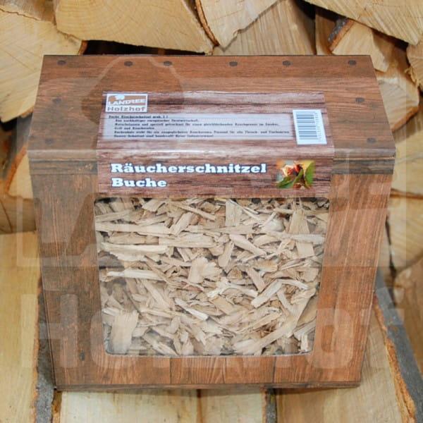 Räucherschnitzel grob Buche 3L - Landree