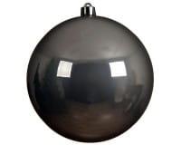 Weihnachten Kae KUGEL bruchfest glanz, dia14cm Nebelgrau