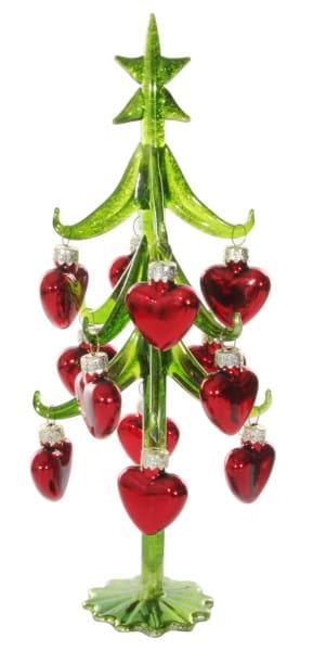 Weihnachten Shi GLAS TREE