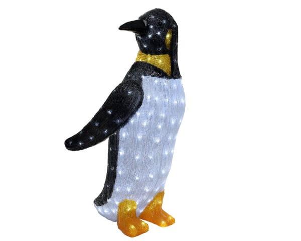 Weihnachten Kae LED PINGUIN Acryl, 47x47 H83 200L kaltweiß