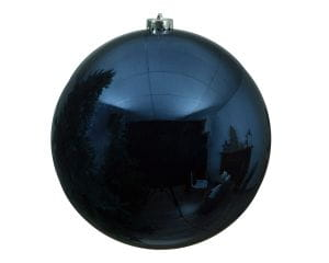Weihnachten Kae KUGEL bruchfest glanz, dia14cm Nachtblau