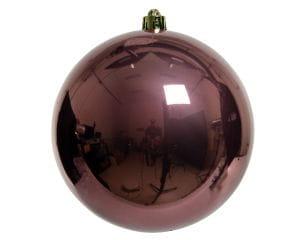 Weihnachten Kae KUGEL bruchfest glanz, dia20cm Samtpink