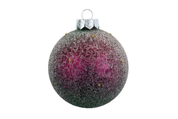 Weihnachten Gift CHRISTBAUMKUGEL, m. Perlen punch