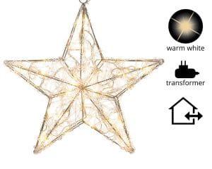 LED Acryl Stern außen