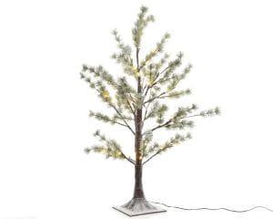LED Kiefer mit Schnee -outdoor-