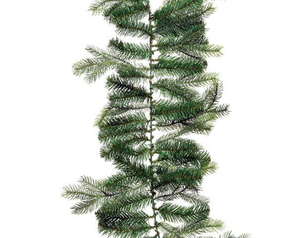 Weihnachten Kae Grandis Girlande, 270cm grün