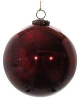 Weihnachten Shi GLAS Weihnachtskugeln aged
