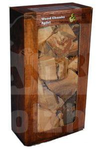 Wood Chunks Apfel 1,5 kg in Holzoptik-Box - Landree