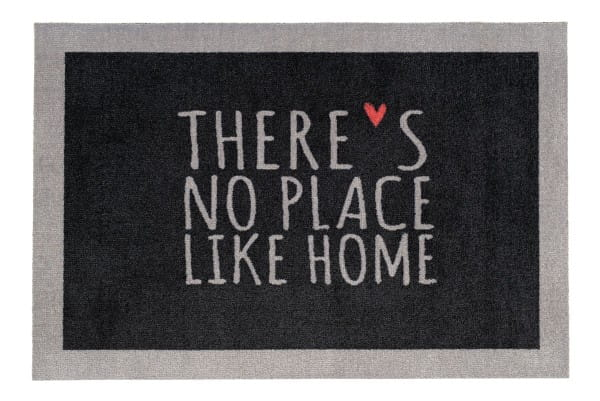Fußmatte Gift C. WASHABLES 75x50, There's no place like home