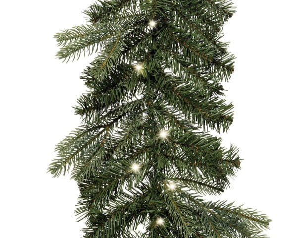Weihnachten Kae Sunndal Girlande Micro L, 270cm-60L grün/warmes weiss
