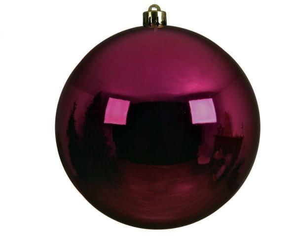 Weihnachten Kae KUGEL bruchfest glanz, dia20cm Beerenrosa