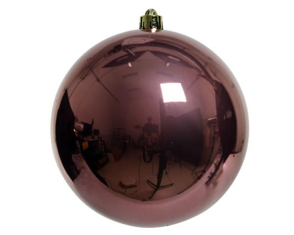 Weihnachten Kae KUGEL bruchfest glanz, dia14cm Samtpink