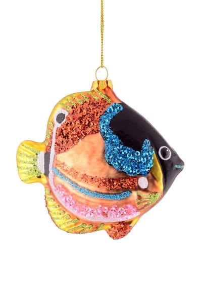 Weihnachten Gift TROPENFISCH Hänger, Tropenfisch bunt
