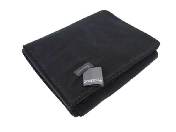 Zoeppritz Fleecedecke SOFT FLEECE, black 160x200cm