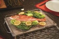 Fisch- und Gemüsehalter klappbar