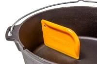 Schaber für Feuertöpfe + Pfannen - Petromax