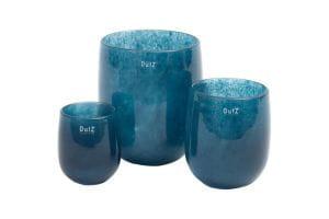 DutZ Vase BARREL, navy blue