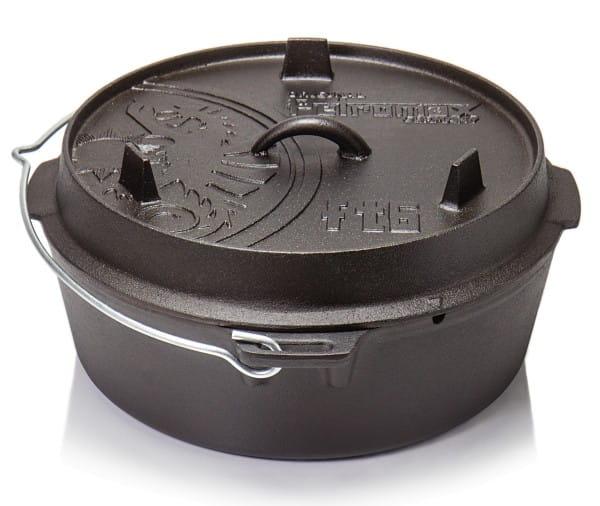 Petromax Feuertopf mit planem Boden - Dutch Oven