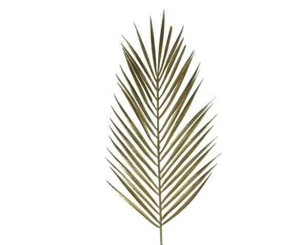 Weihnachten FARNBÜSCHEL 70cm gold w/ glitter