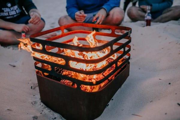 Feuerkorb CUBE rostig - Höfats