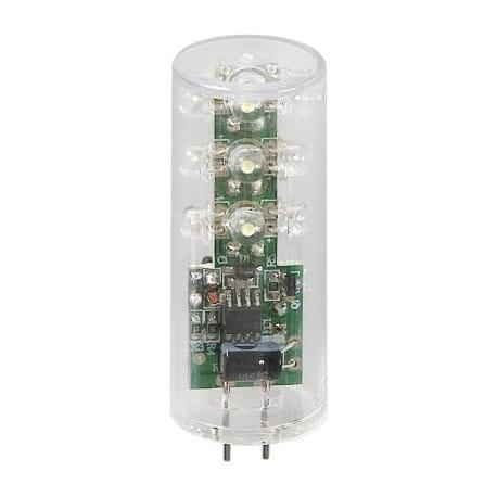 Techmar LED Zylinder 12V 2W GU5.3 Warm Weiß-6072101