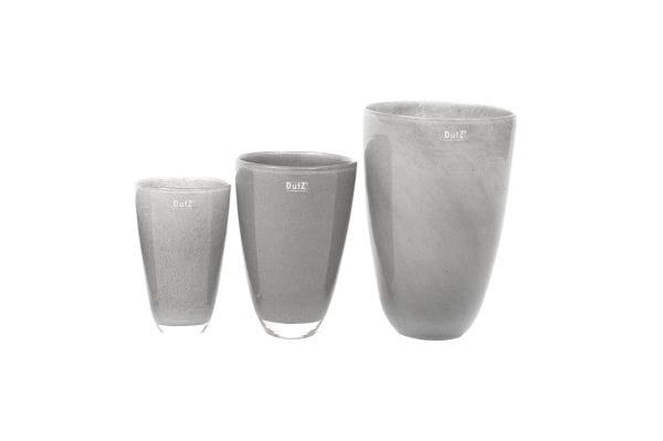 DutZ Vase FLOWERVASE H26 Ø16, new grey