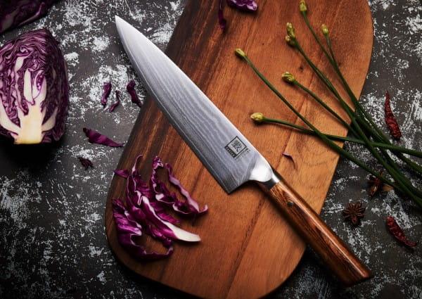 ZAYIKO Damastmesser Kasshuko, Chefmesser - Oleio