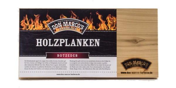 Don Marco's Holzplanken Rot Zeder 2er Set