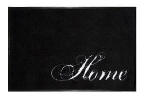 Fußmatte Gift C. WASHABLES 75x50, Home schwarz