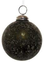 ShiShi GLASKUGEL, gealtert grün 8cm