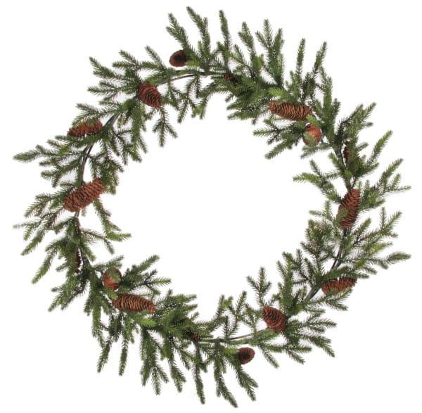Weihnachten Shi FIR SLIM WREATH
