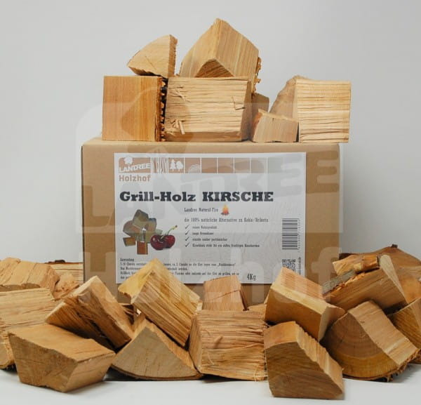 Grillholz Kirsche 4kg - Landree