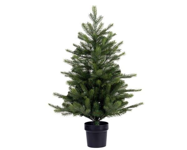 Weihnachten Kae Grandis Mini Topfbaum, 75cm grün