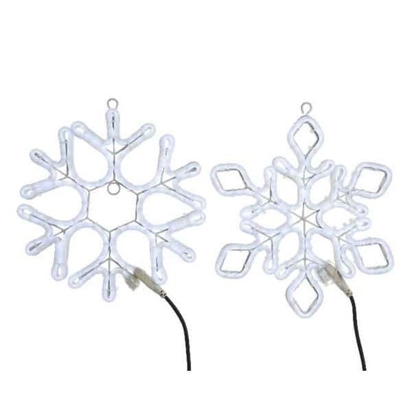 LED Neonflex Schneeflocke -outdoor-