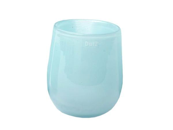 DutZ Vase BARREL H18 Ø14,5cm / pale blue