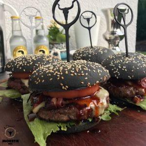 Burger Spieß 6er-Set Kunststoff - Moesta
