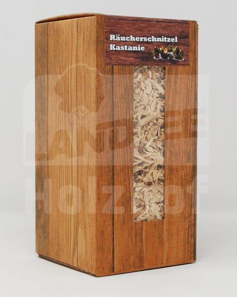 Räucherschnitzel mittel Kastanie 1,5L - Landree