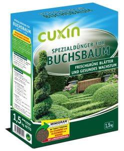 CUXIN Spezialdünger für Buchsbaum 1,5 KG